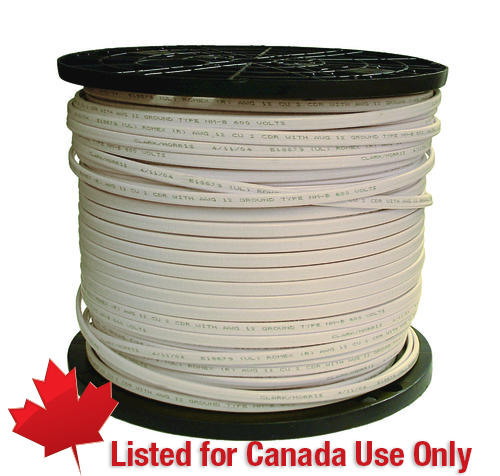 300 Meter 14 2 Nmd 90 Cable With Ground Wire For Use In Canada Only At Menards