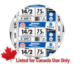 14-2 nmd-90 cable with ground for use in canada only - 75