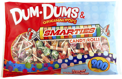 Dum Dums® & Smarties® Mix - 200 Count at Menards®