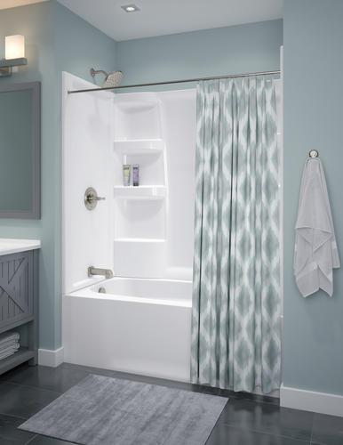 4 Piece Procrylic Bathtub Shower Kit