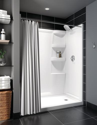 Delta 174 Hycroft 60 Quot X 32 Quot White Shower Wall Surround At