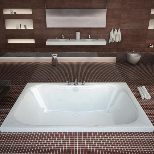 Creek 48 X 60 Rectangular Soaking Bathtub At Menards