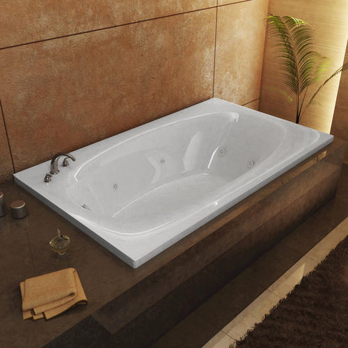 "durango 42"" x 66"" rectangular whirlpool jetted bathtub at menards®"
