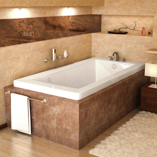 "marshall 42"" x 60"" rectangular air jetted bathtub at menards®"