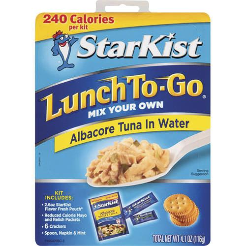 Starkist® Lunch To Go Albacore Tuna in Water - 4.1 oz