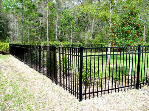 6' x 6' Aluminum Fence Section, 4 Rail at Menards®