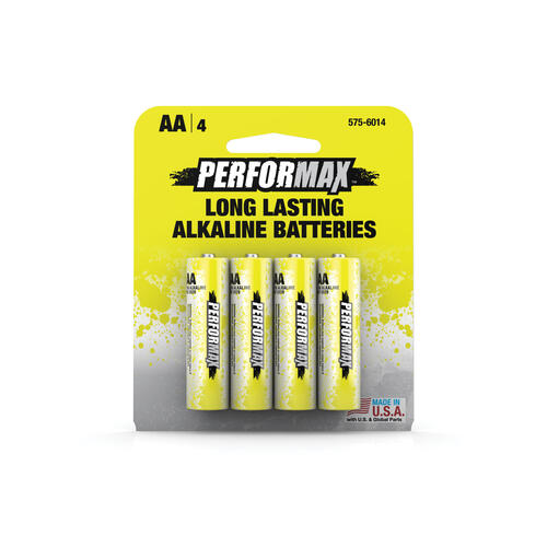 Performax Aa Alkaline Batteries At Menards