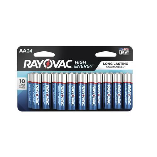 Rayovac High Energy Aa Alkaline Batteries At Menards