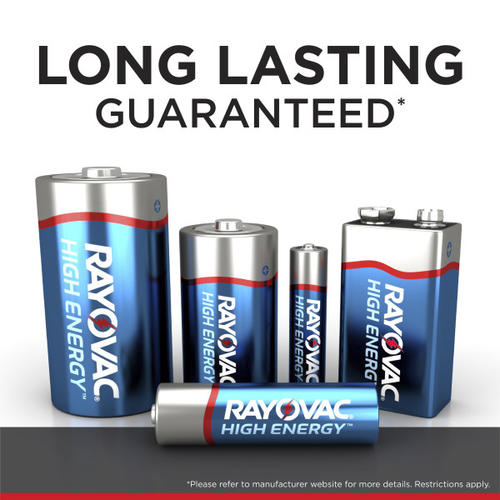 Rayovac® High Energy™ AA Alkaline Batteries - 48 pack at