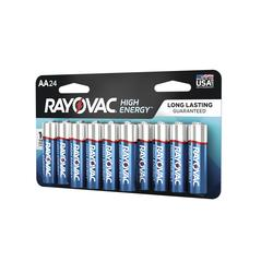 Rayovac® High Energy™ AA Alkaline Batteries - 24 Pack at