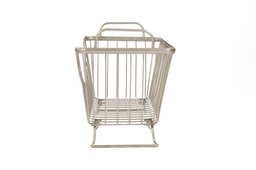 Satin Nickel Small Spectrum 20377 Ashley Stackable Basket