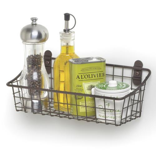 Spectrum® Vintage Cabinet U0026 Wall Mount Basket At Menards®