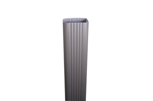 Spectra Metals 3 X 4 X 10 Aluminum Downspout At Menards