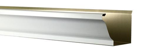 "Spectra Metals 5"" x 16' K-Style Heavy-Duty Aluminum Gutter"