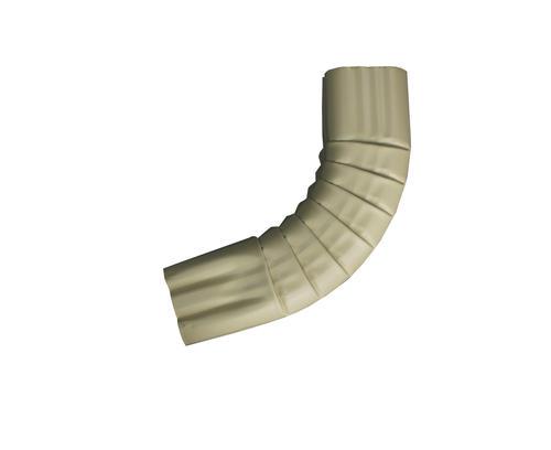 Near 90degree Gutter Elbow 2x3, Clay Aluminum