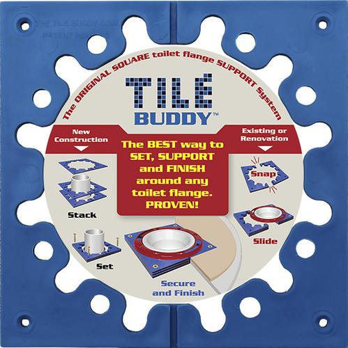 Tile Buddy™ Toilet Flange Support Kit at Menards®