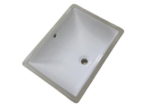 3s Stone 20 W X 15 D White Rectangle Undermount Bathroom Sink At Menards