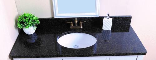 bathroom design wonderful uba tuba granite for kitchen or.htm tuscany   49 w x 22 d granite vanity top with oval bowl at menards    granite vanity top with oval bowl