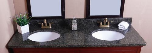bathroom design wonderful uba tuba granite for kitchen or.htm tuscany   61 w x 22 d granite vanity top with double oval bowls at  granite vanity top with double oval
