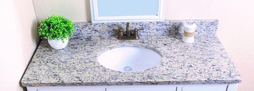 Tuscany 49 W X 22 D Granite Vanity Top With Oval Bowl At