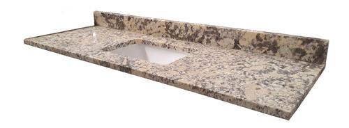 Tuscany 174 61 Quot W X 22 Quot D Granite Vanity Top With Rectangular