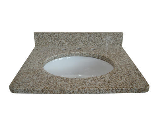 Tuscany 37w X 22d Granite Vanity Top With Oval Bowl At Menards