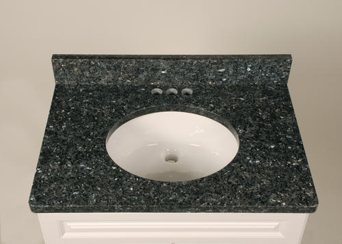 "Bathroom Sinks At Menards tuscany® 49"" x 22"" blue pearl granite vanity top at menards®"