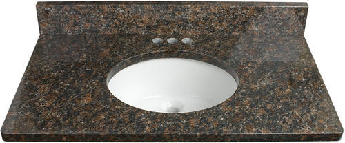 Tuscany 49 W X 22 D Granite Vanity Top With Oval Undermount Bowl At Menards