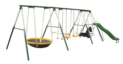 Sportspower 8 Station Metal Swingset At Menards
