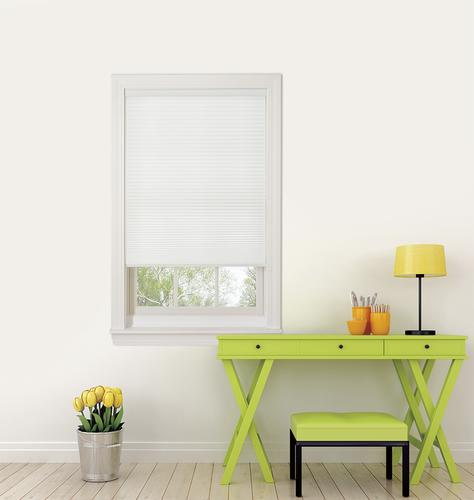 "Window Images® White Light Filtering Cordless Cellular Shade 72""W x 72""L"