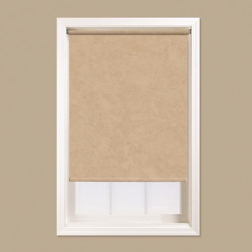 Window Images 6 Mil Room Darkening Decorative Roller Shade 72 Length At Menards