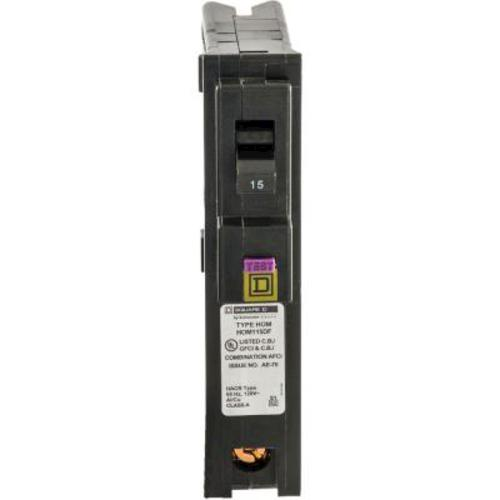 Square D Homeline 15 Amp Plug On 1 Pole Cafci And Gfci