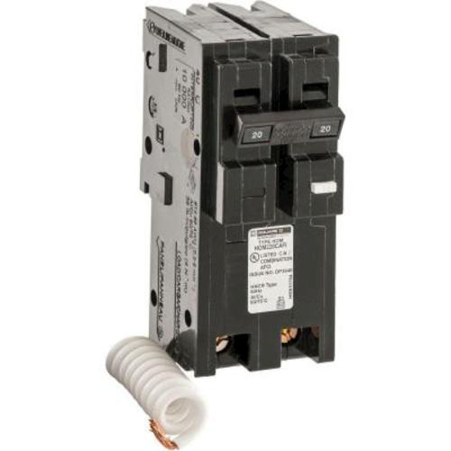 square d homeline 20 amp combination arc fault breaker at menards rh menards com