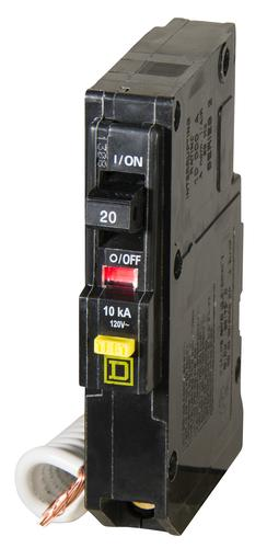 Square D Qo 20 Amp Single Pole Commercial Gfci Breaker