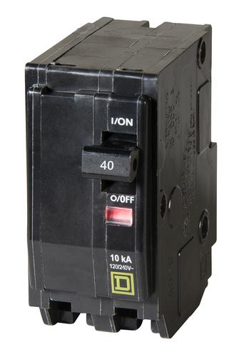Square D 40A Circuit Breaker Type QO