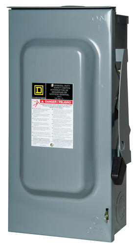 squared_46070 square d™ 100 amp 240v outdoor general duty safety switch at menards� outdoor disconnect box for ac unit at creativeand.co