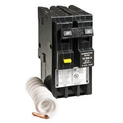 Square D™ Homeline™ 50 amp 2-Pole Residential GFCI Breaker ...