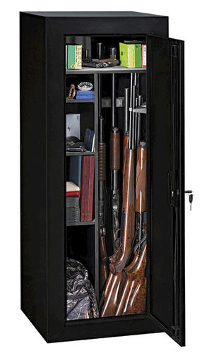 Stack-On® 12.00 cu ft 18-Gun Convertible Steel Security Cabinet ...