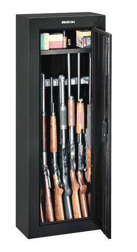 Gun Security Cabinet >> Stack On 6 68 Cu Ft 8 Gun Steel Security Cabinet With Key Lock At