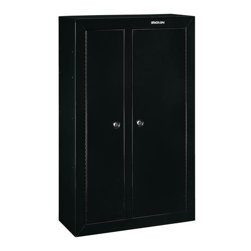 Stack On 174 10 Gun Double Door Steel Security Cabinet At
