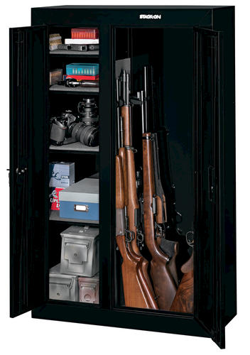 Fantastic Stack On 10 Gun Double Door Steel Security Cabinet At Menards Download Free Architecture Designs Momecebritishbridgeorg
