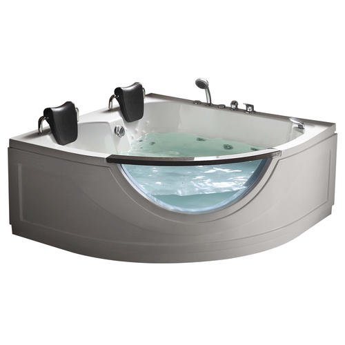 "chelsea 59"" w x 59"" d heated jet massage whirlpool bathtub at menards®"
