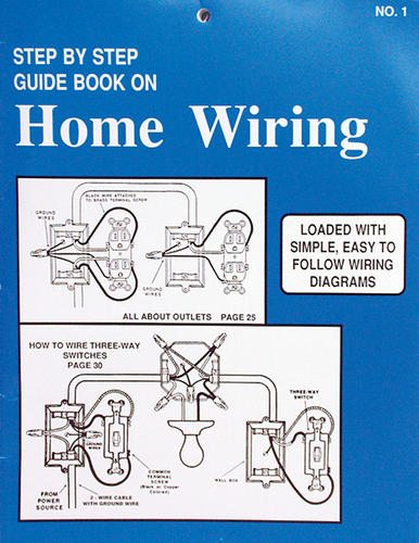 step by step guide book at menards rh menards com electrical wiring guide book home wiring guide book
