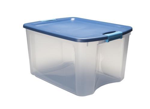 Sterilite Latch Carry 18 Gallon Clear Storage Bin