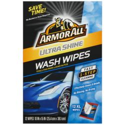 ArmorAll® Ultra Shine Wash Wipes - 12 Count
