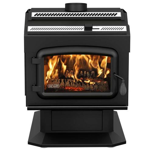 Drolet HT2000 Extra Large Wood Stove (1,000 - 2,400 sq. ft.) at Menards® - Drolet HT2000 Extra Large Wood Stove (1,000 - 2,400 Sq. Ft.) At