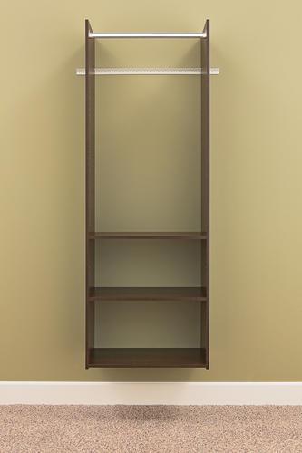 EASY TRACK Truffle Hanging Tower Closet Kit at Menards®