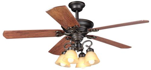 turn of the century® viente 52 in oil rubbed bronze ceiling fan, electrical wiring, turn of the century ceiling fan wiring diagram