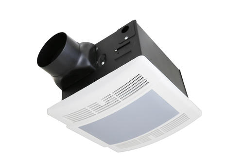 Tuscany™ 90 CFM Ceiling Exhaust Bath Fan With Light At Menards®