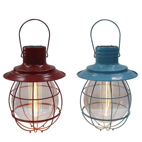 Enchanted Garden 10 Metal Led Light Lantern Assorted Styles At Menards